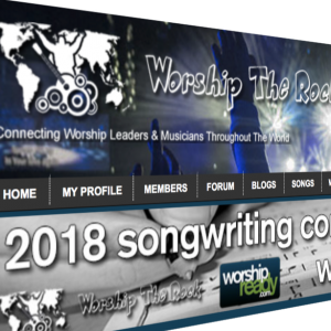 Worship The Rock website screenshot